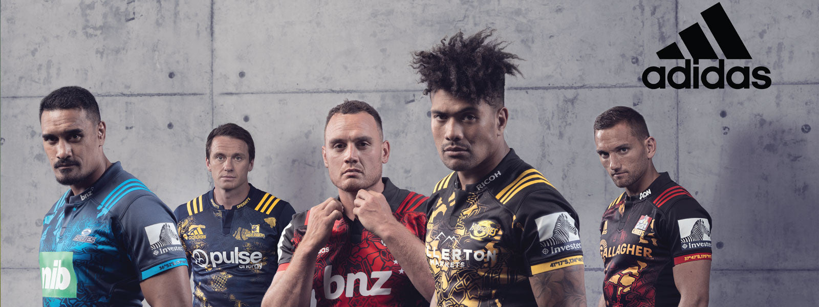Adidas unveil special edition Super Rugby jerseys in preparation for the 2017 British and Irish Lions tour