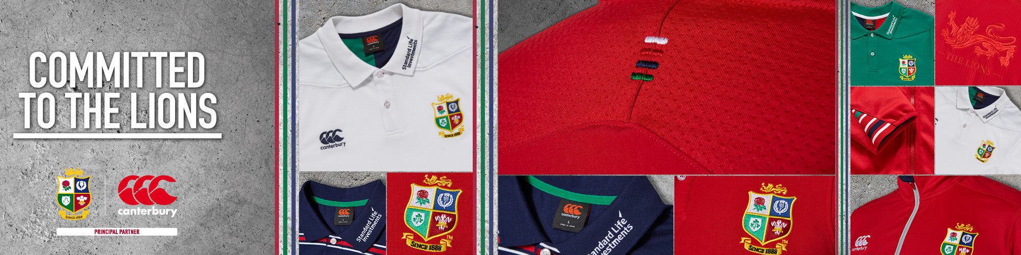 Canterbury 2017 British & Irish Lions Training range