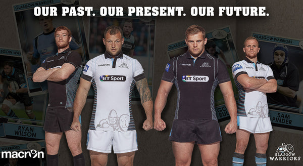 Glasgow Warriors Home and Away Rugby Shirts 2016/17