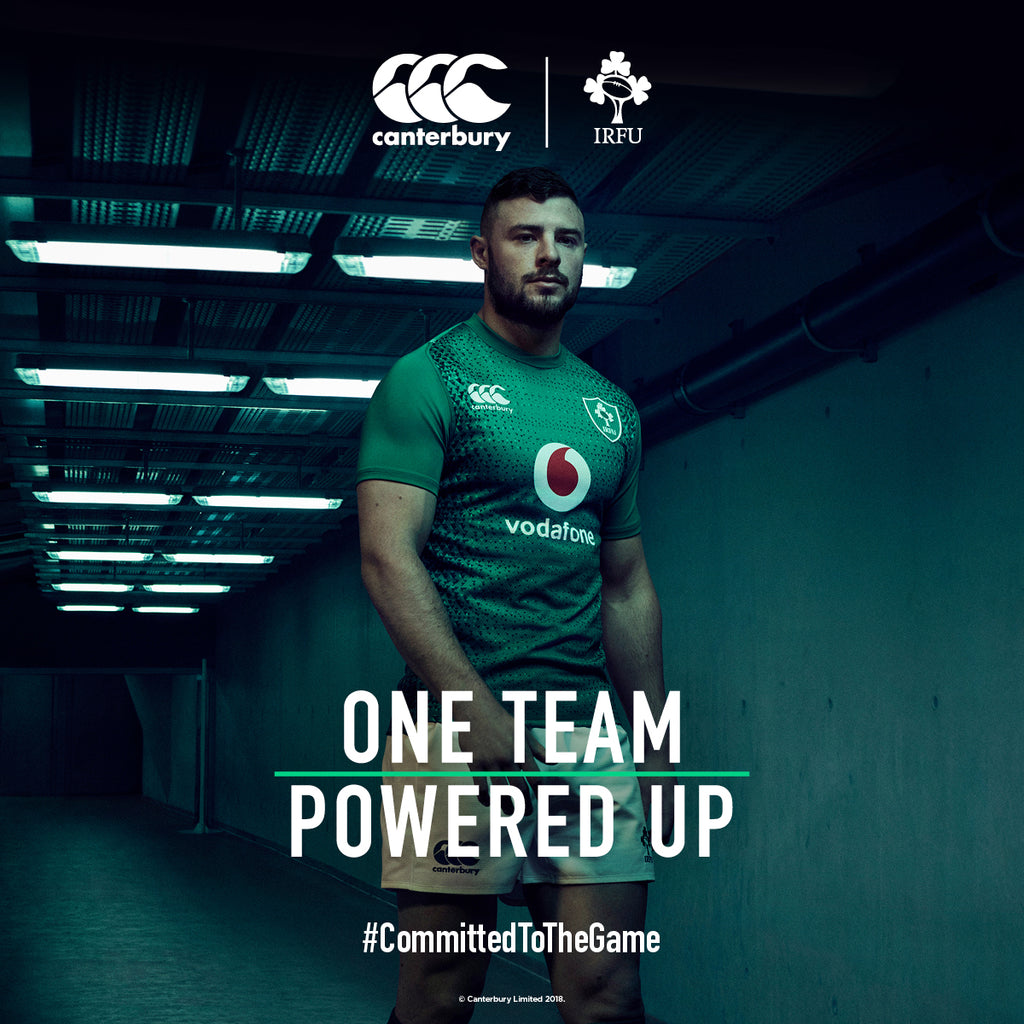 465347f431f New 2018 19 Ireland Home   Away Rugby Shirts from Canterbury