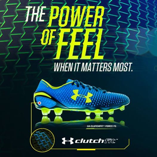 Under Armour ClutchFit from rugbystuff.com