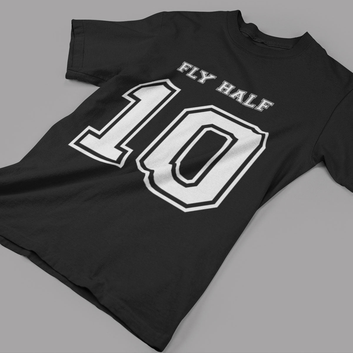 Fly Half Number 10 Rugby Tee