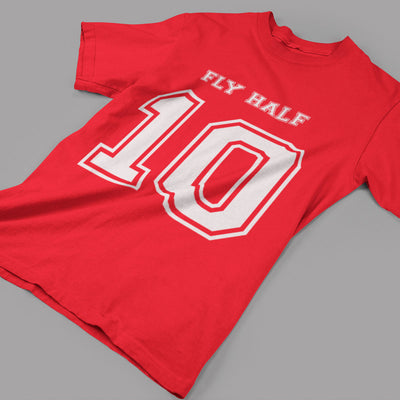 Fly Half Number 10 Rugby Tee - First XV rugbystuff.com