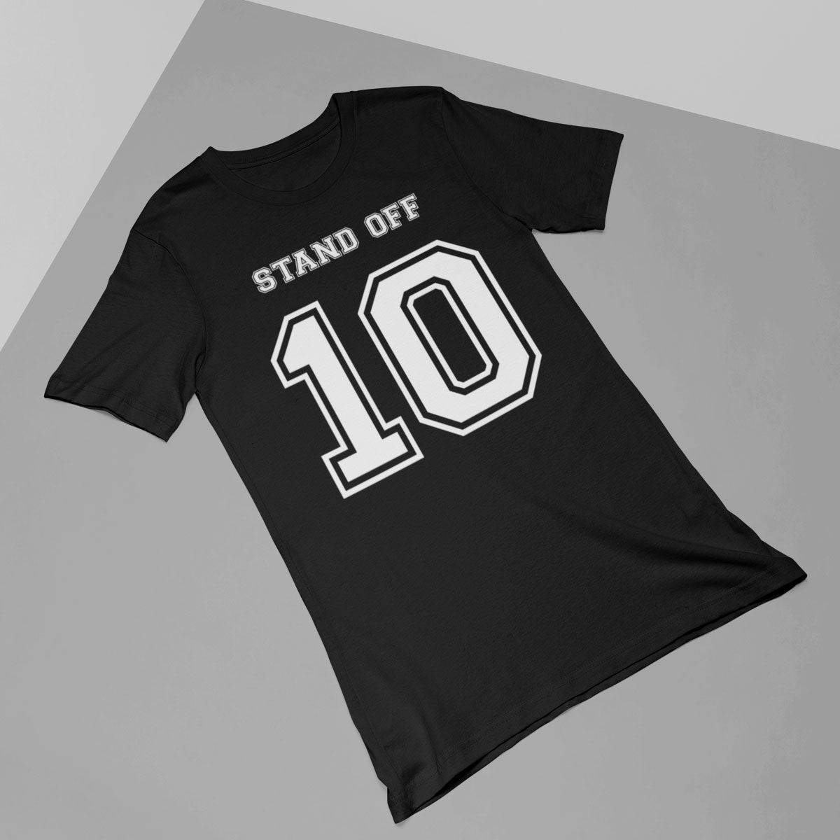 Stand Off Number 10 Rugby Tee