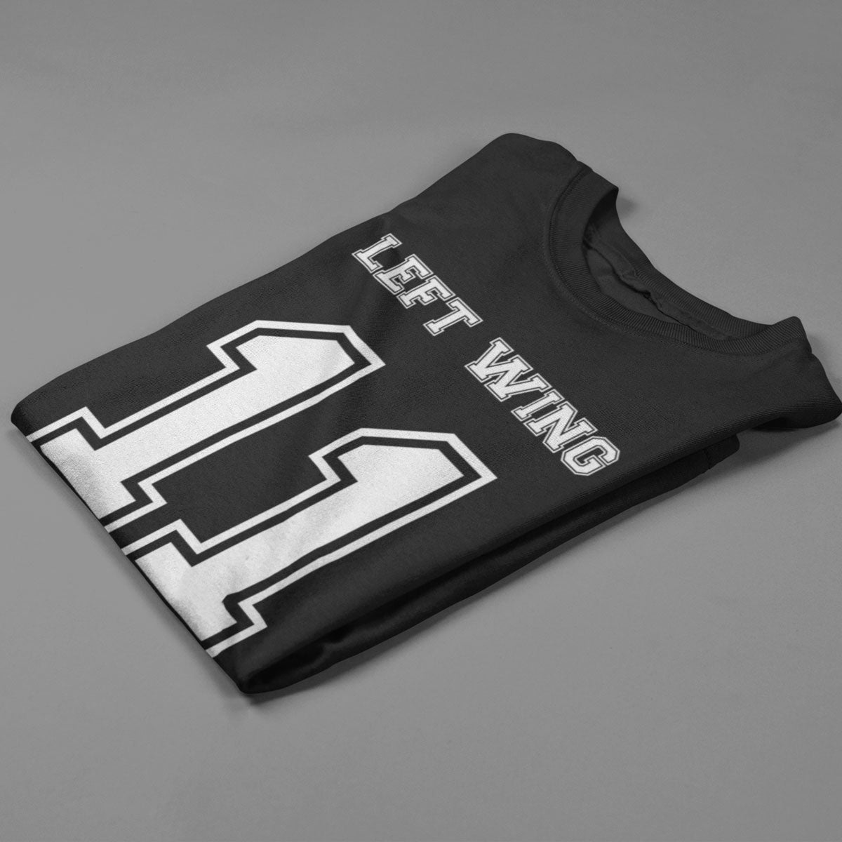 Left Wing Number 11 Rugby Tee