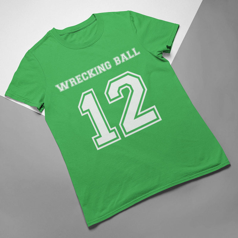Wrecking Ball Number 12 Rugby Tee