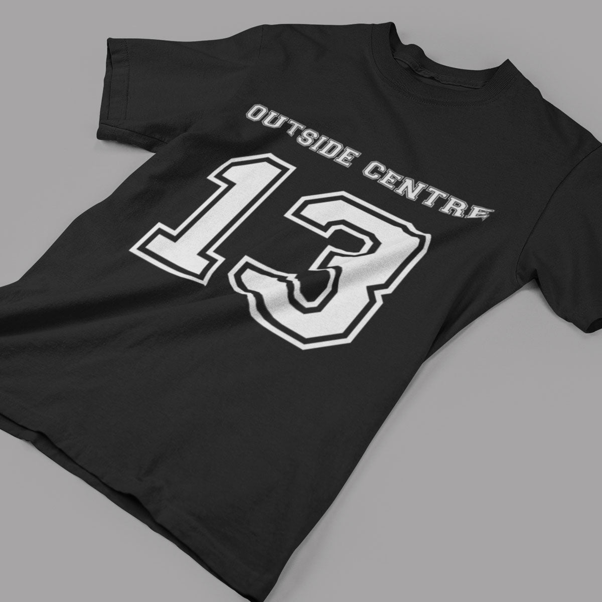 Outside Centre Number 13 Rugby Tee - First XV rugbystuff.com