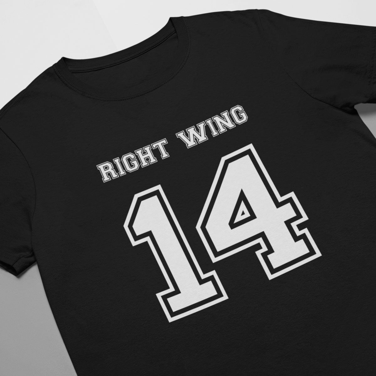 Right Wing Number 14 Rugby Tee - First XV rugbystuff.com