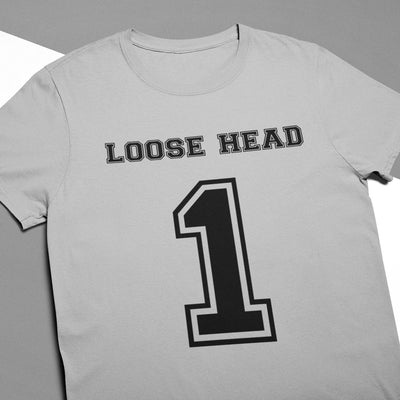 Loosehead Prop Number 1 Rugby Tee - First XV rugbystuff.com