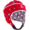 Men's Air Rugby Headguard Red/White - First XV rugbystuff.com