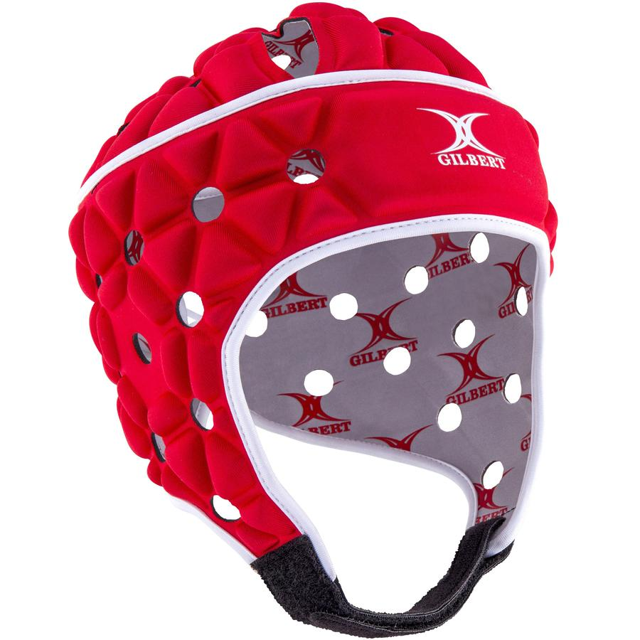 Kid's Air Rugby Headguard Red/White - First XV rugbystuff.com