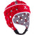 Kid's Air Rugby Headguard Red/White