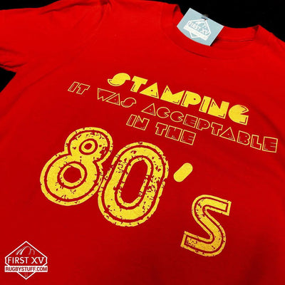 Acceptable In The 80's Rugby Tee - First XV rugbystuff.com