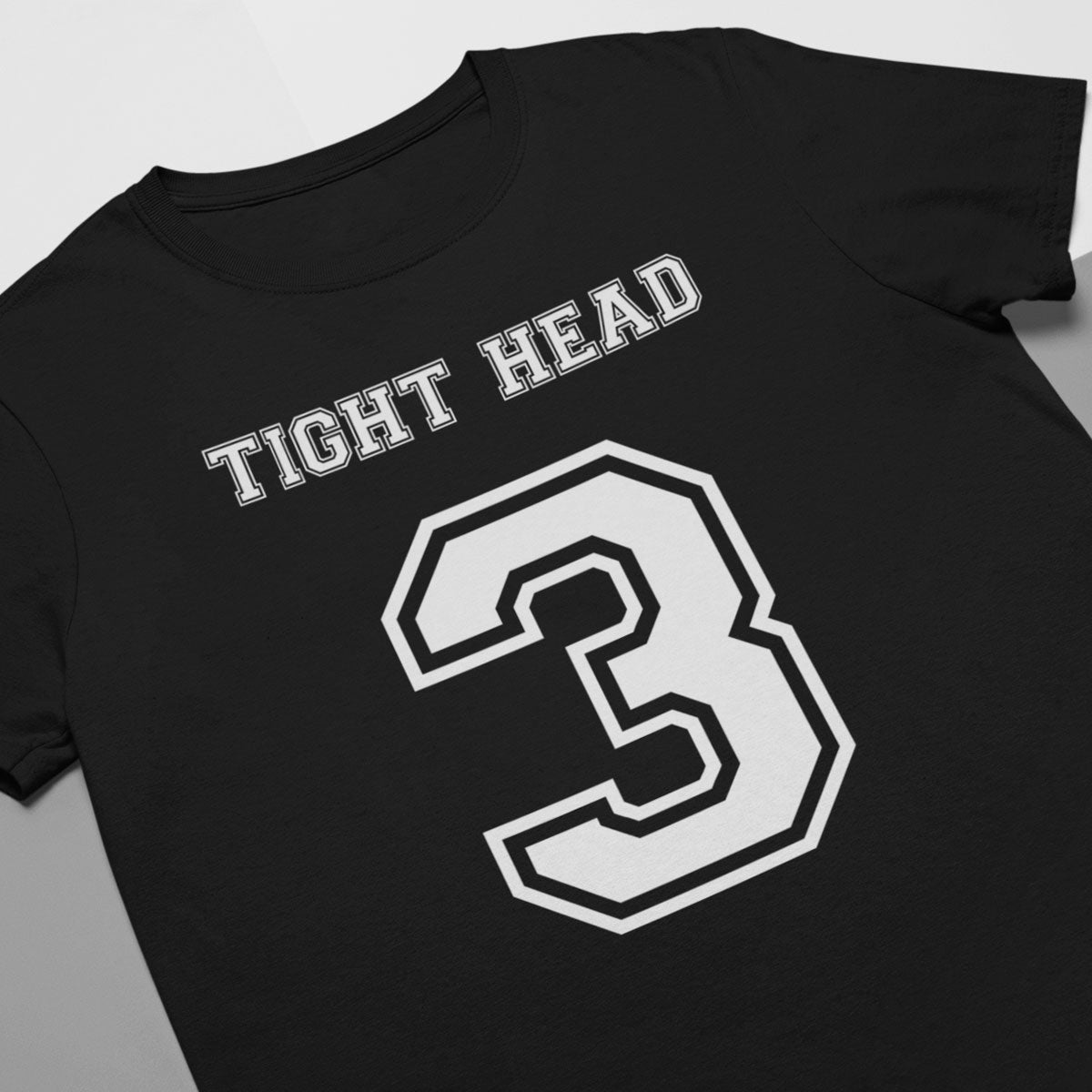 Tight Head Number 3 Rugby Tee