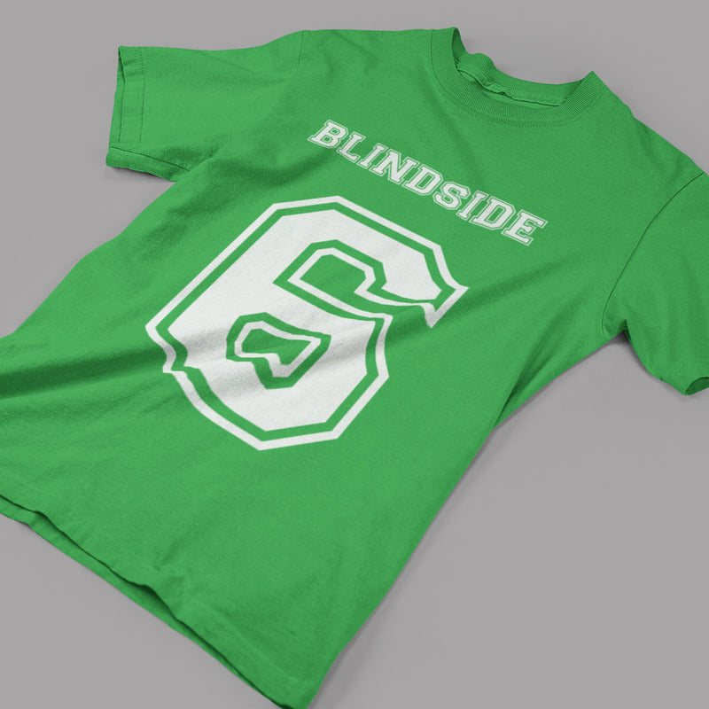 Blindside Flanker Number 6 Rugby Tee