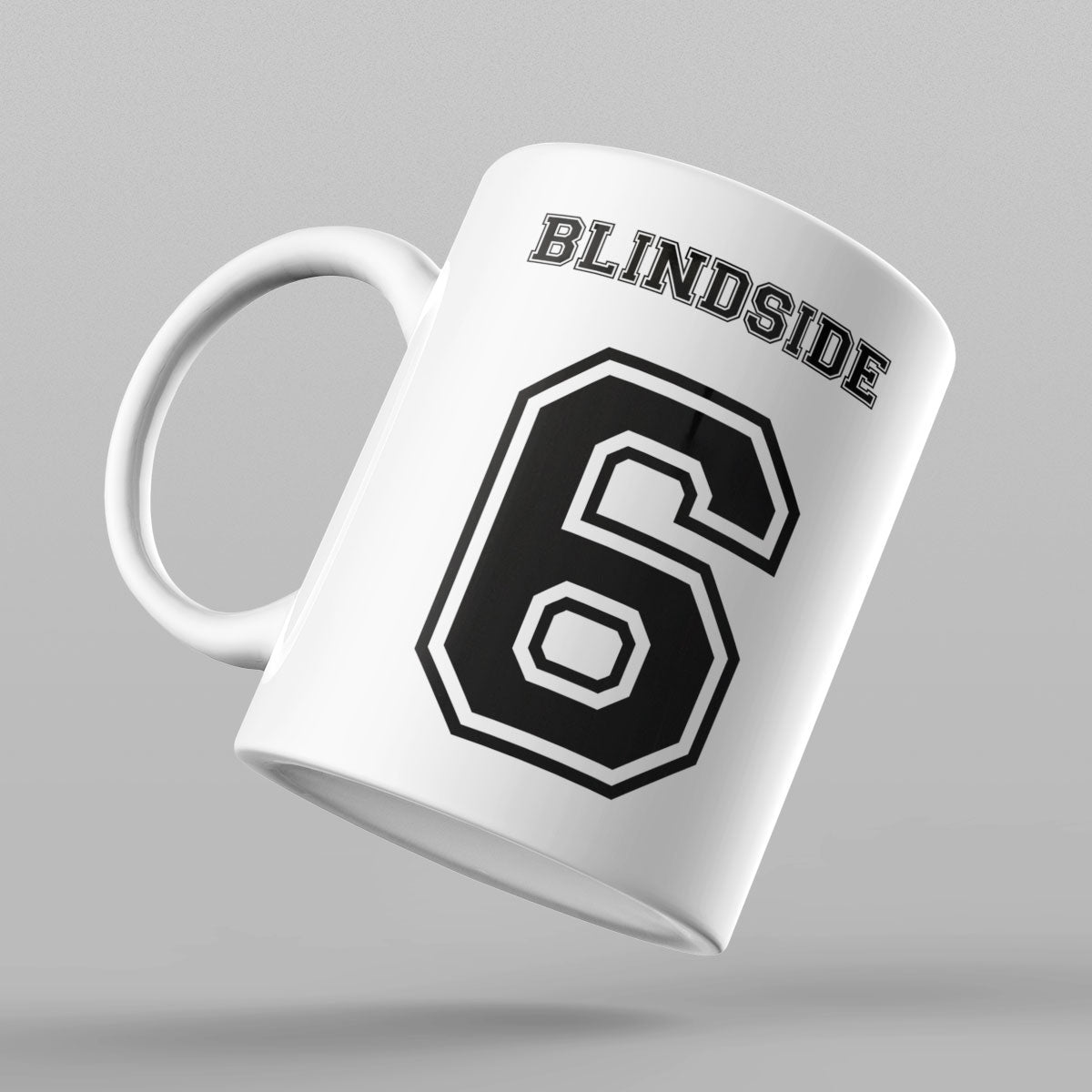Blindside Number 6 Rugby Mug - First XV rugbystuff.com