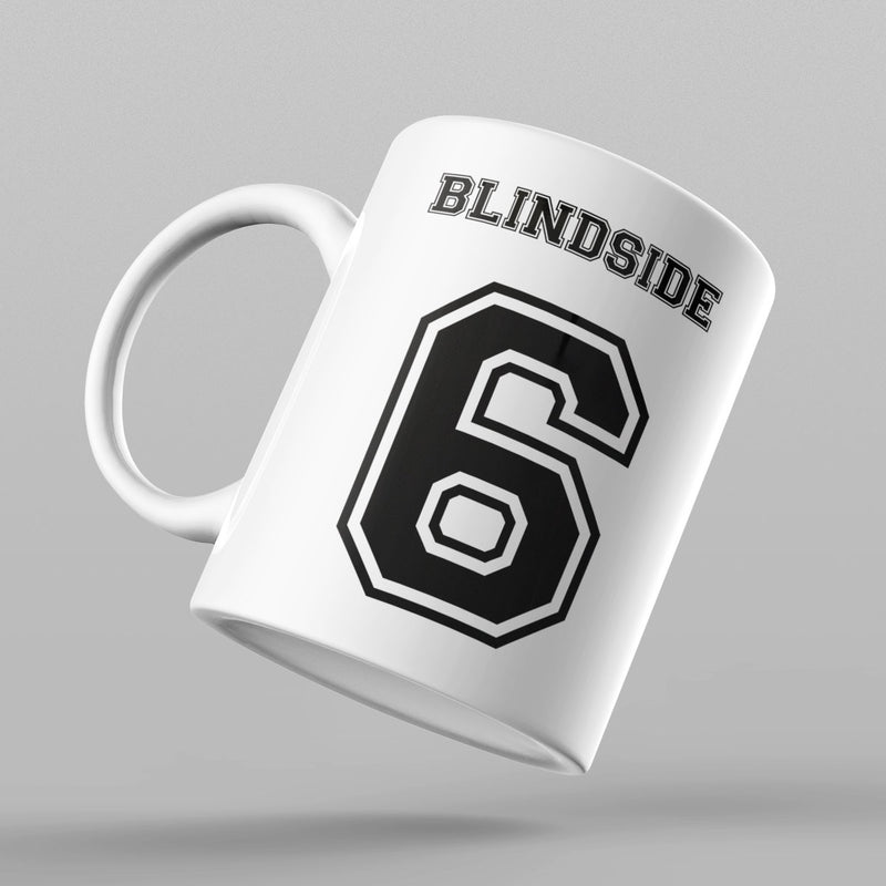 Blindside Number 6 Rugby Mug