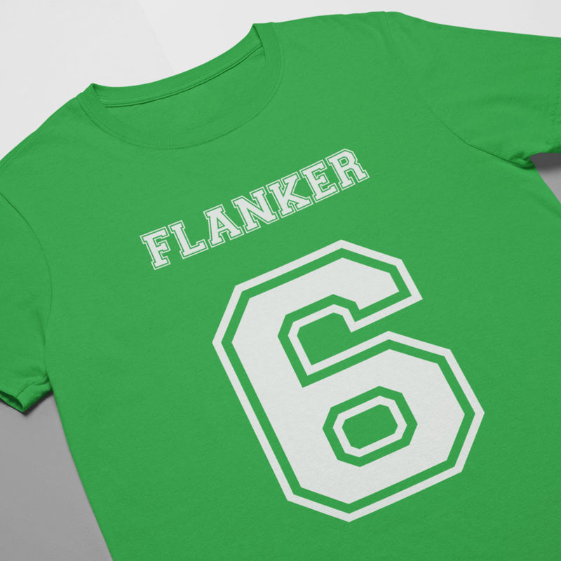 Flanker Number 6 Rugby Tee