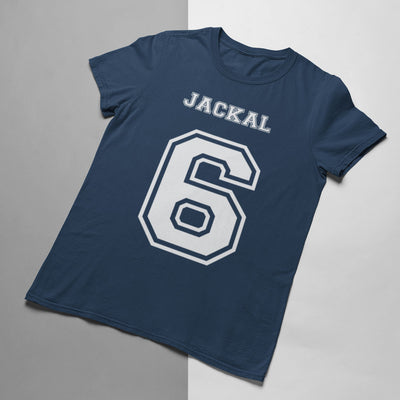 Jackal Number 6 Rugby Tee - First XV rugbystuff.com