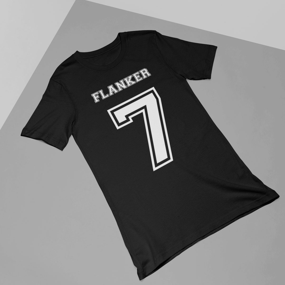 Flanker Number 7 Rugby Tee - First XV rugbystuff.com