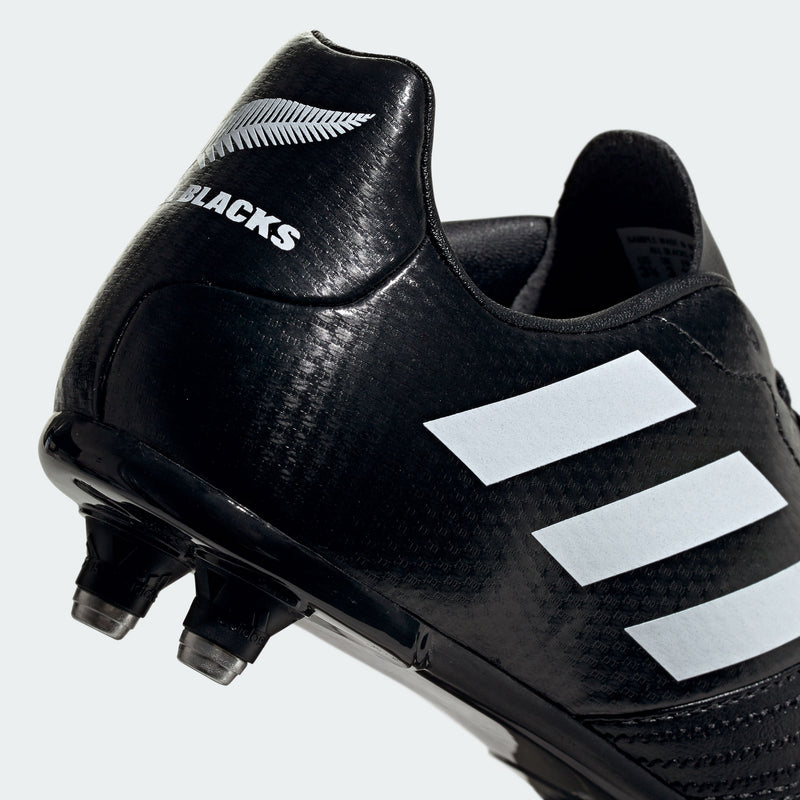 All Blacks SG Junior Rugby Boots Core Black - First XV rugbystuff.com