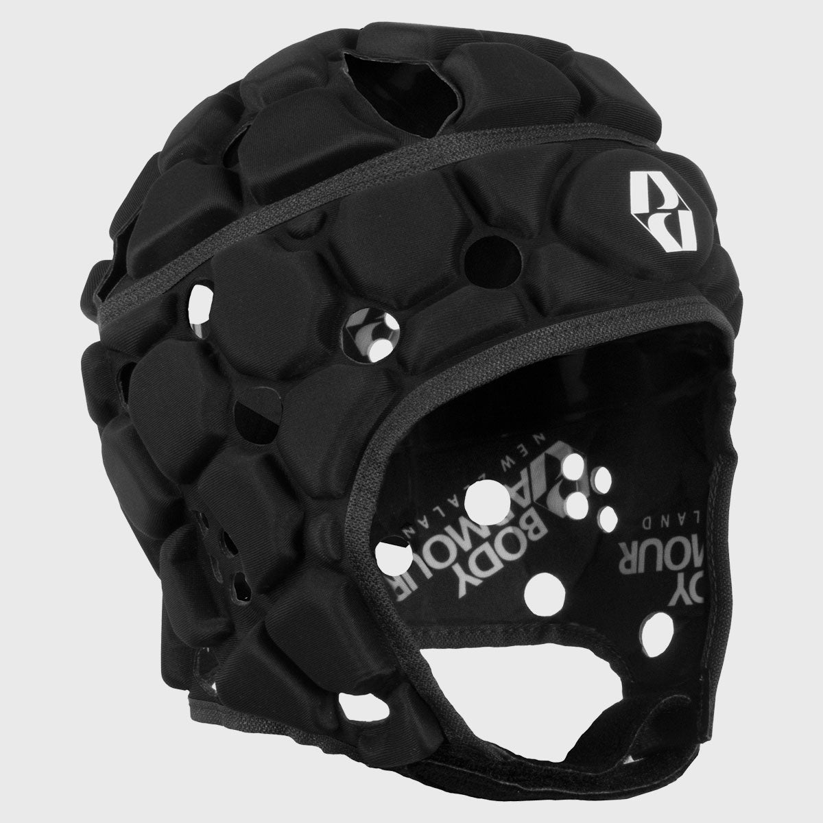 Kid's Ventilator Rugby Headguard Black