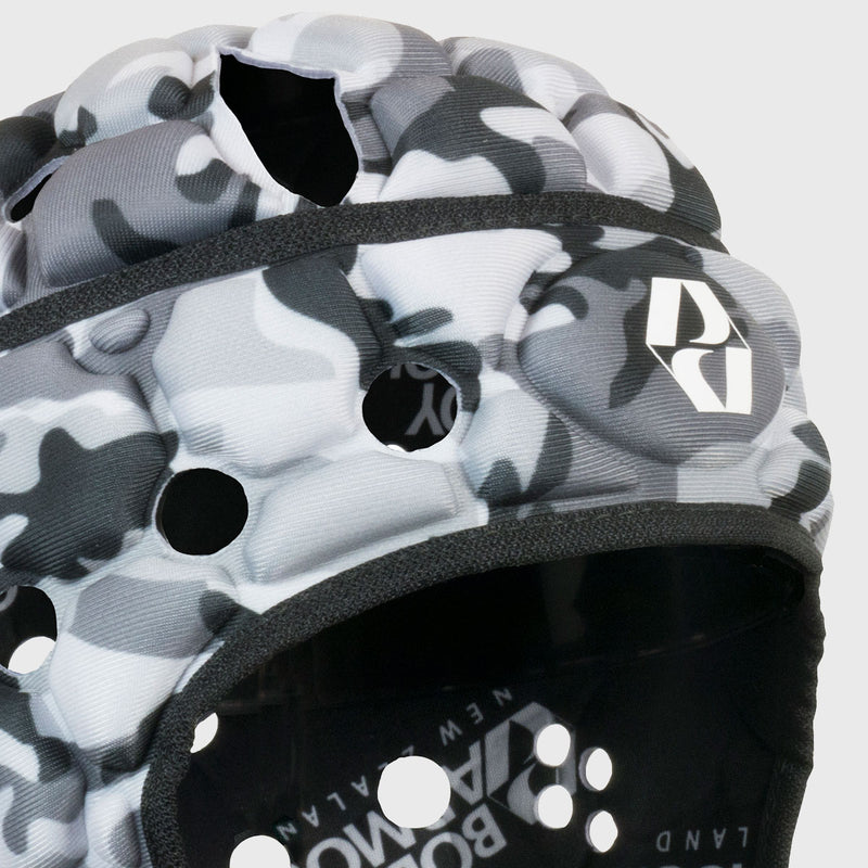 Ventilator Rugby Headguard Camo Black