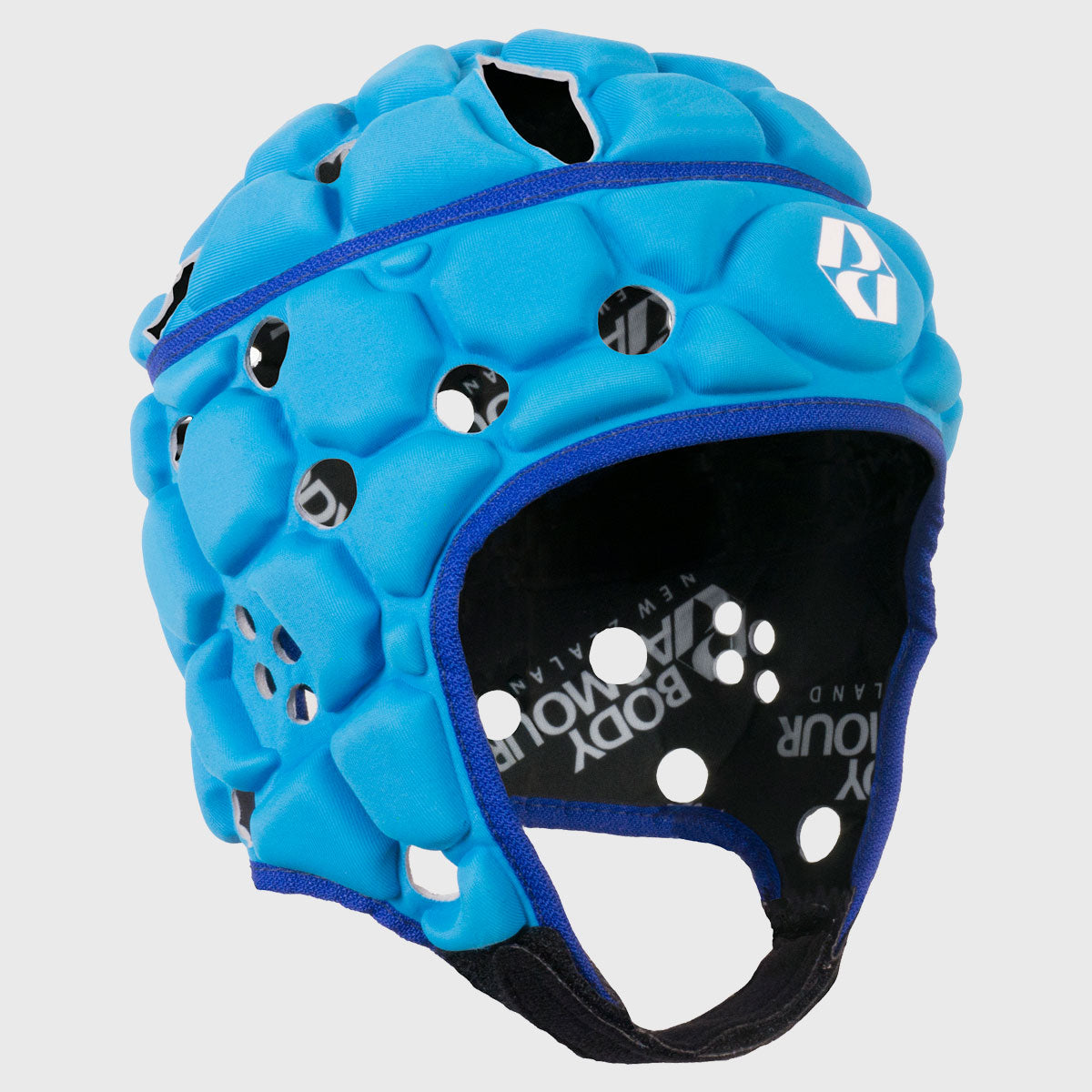 Kid's Ventilator Rugby Headguard Mid Blue