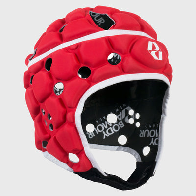 Kid's Ventilator Rugby Headguard Red - First XV rugbystuff.com