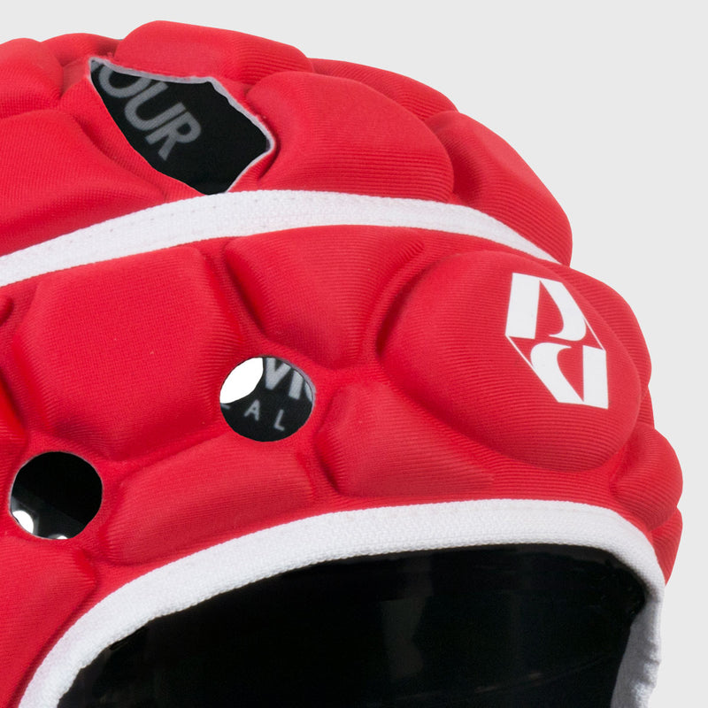 Kid's Ventilator Rugby Headguard Red