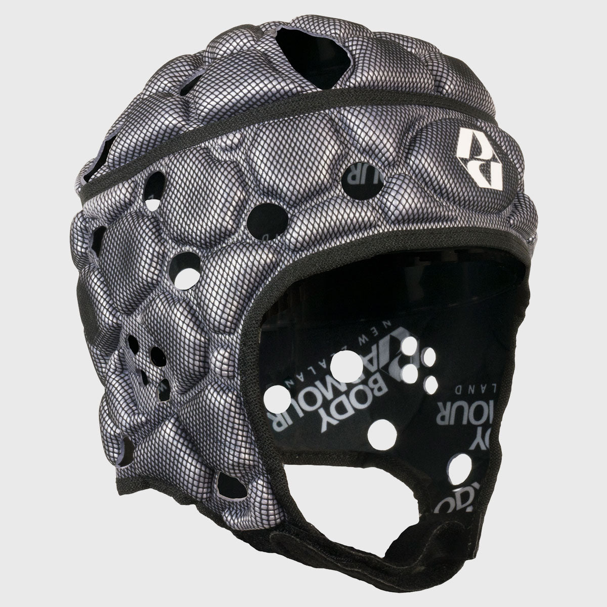 Kid's Ventilator Rugby Headguard Silver