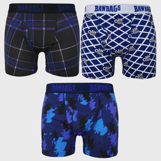 Scotland 3 Pack Boxer Shorts