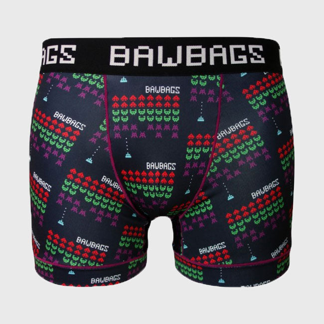 Invaders Cool De Sacs Boxer Shorts - First XV rugbystuff.com