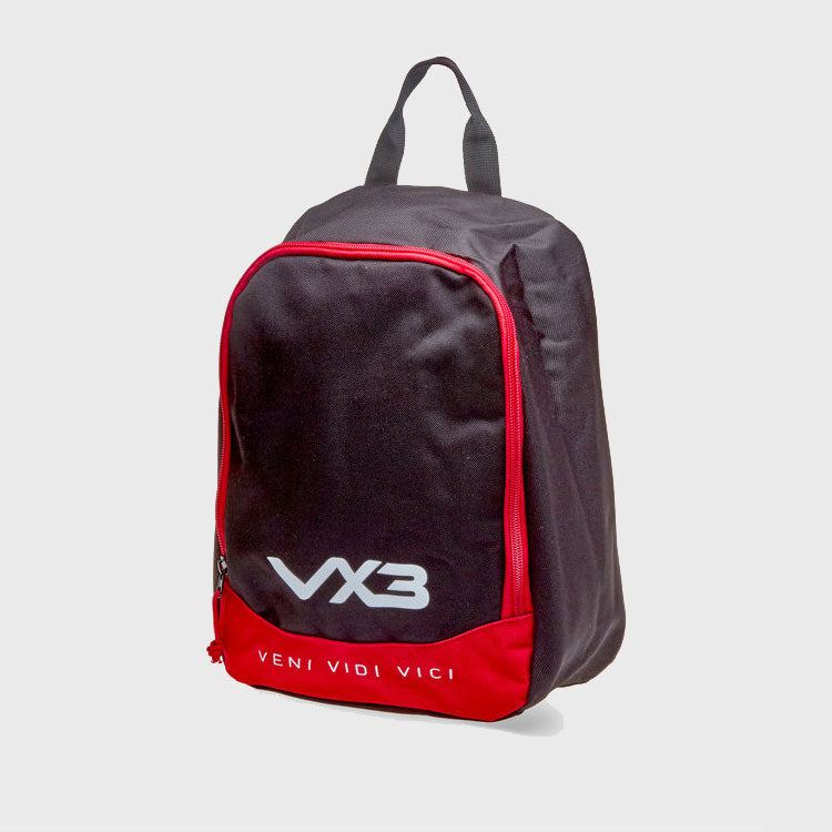 Rugby Boot Bag Black/Red
