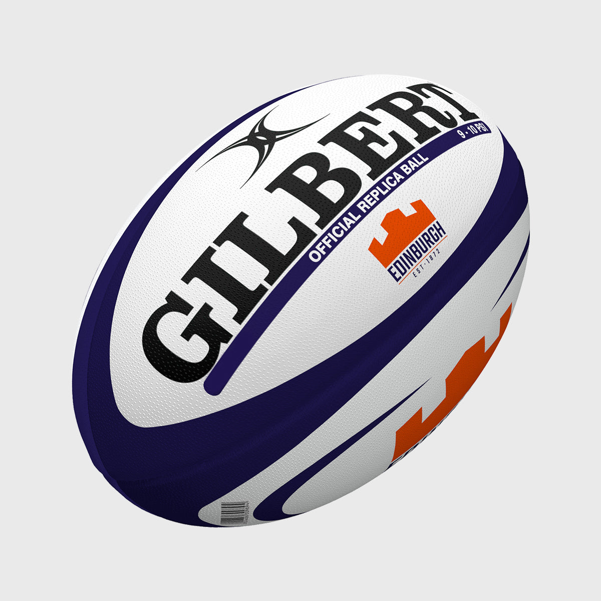 Edinburgh Rugby Midi Ball Navy/Orange - First XV rugbystuff.com