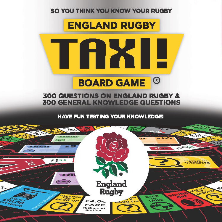 England Rugby Taxi Board Game