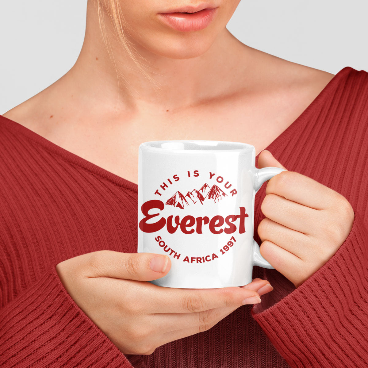 This Is Your Everest Rugby Mug - First XV rugbystuff.com