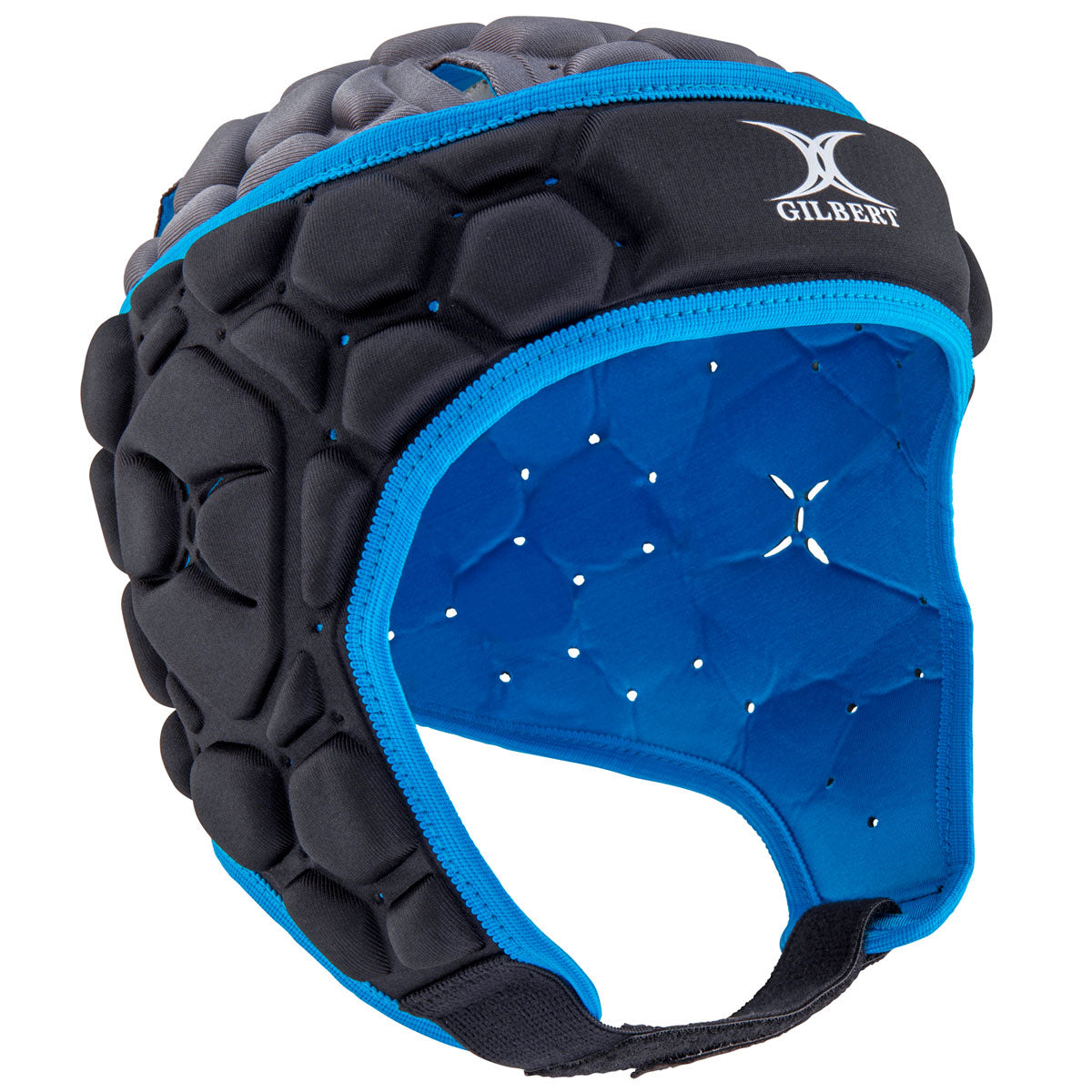 Kid's Falcon 200 Rugby Headguard Electric Blue