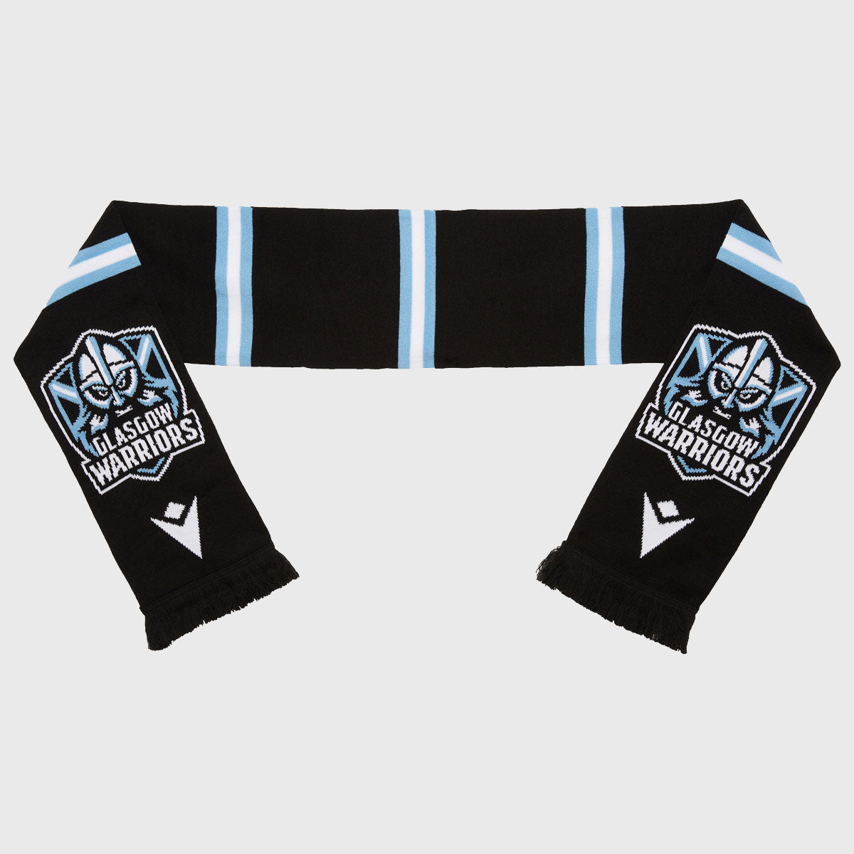 Glasgow Warriors Rugby Bar Scarf Black 2020/21 - First XV rugbystuff.com