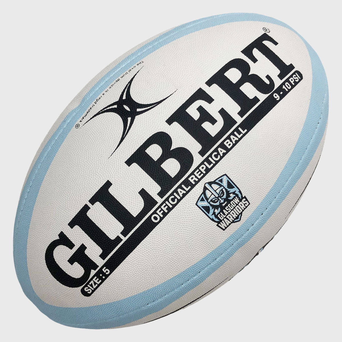 Glasgow Warriors Replica Rugby Ball 2019/20 - First XV rugbystuff.com
