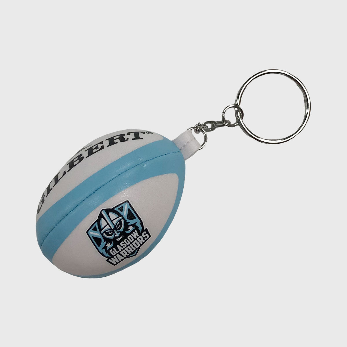 Glasgow Warriors Replica Rugby Ball Keyring 2019/20 - First XV rugbystuff.com