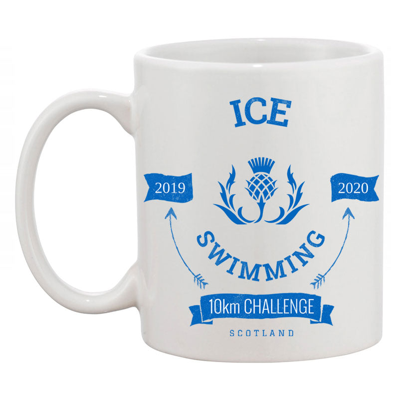 Ice Swimming 10km Challenge Coffee Mug