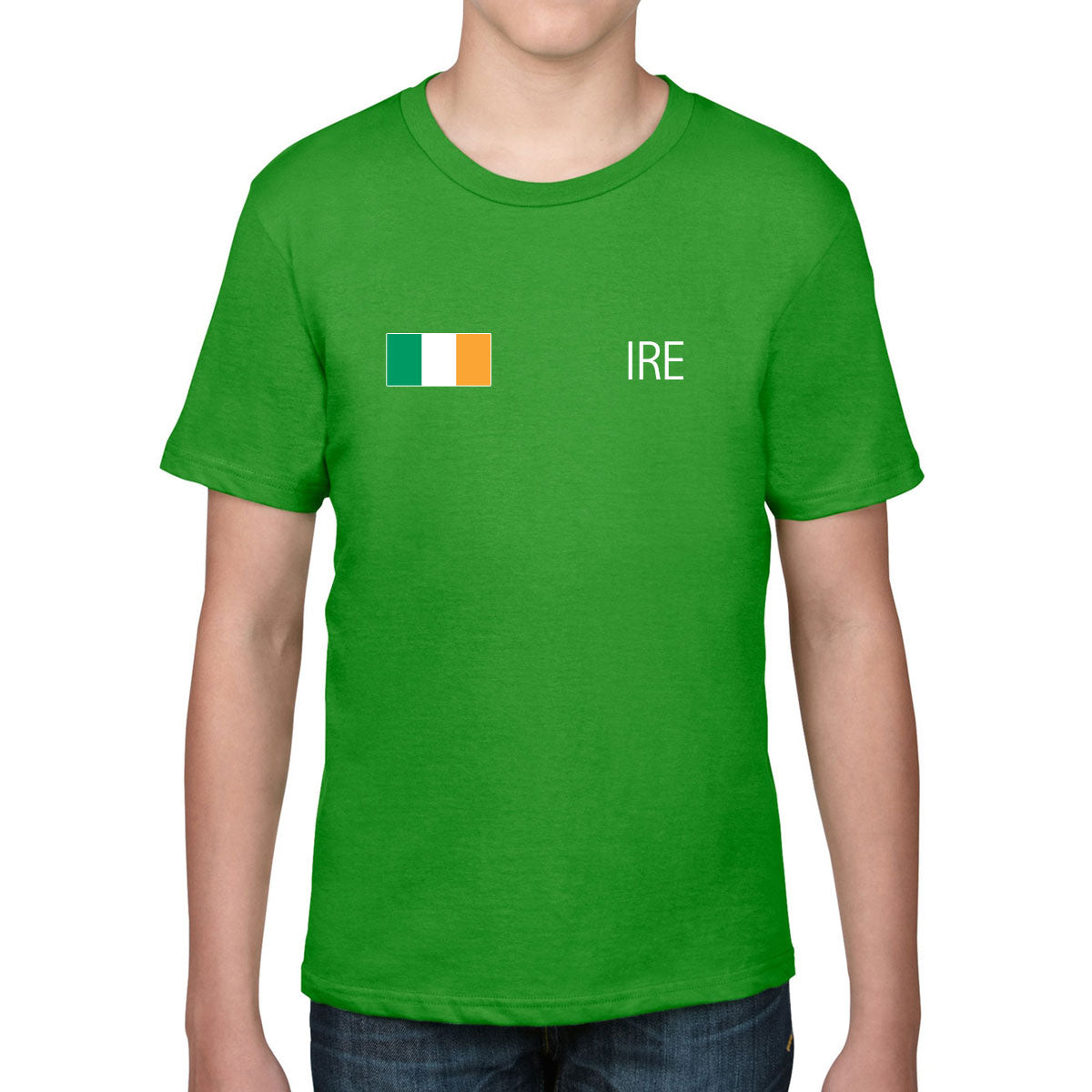 Ireland Rugby Kid's Flag Tee - First XV rugbystuff.com