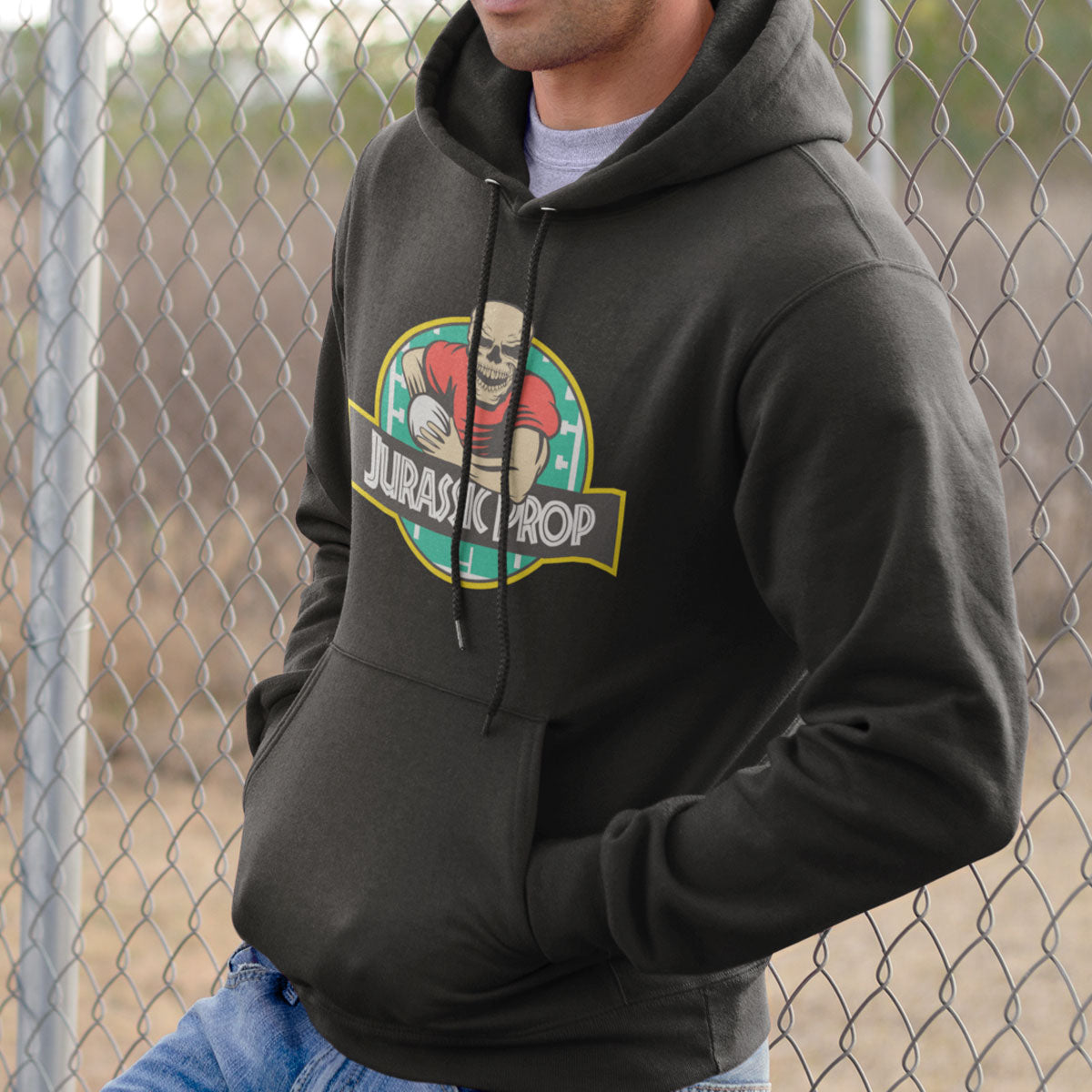 Jurassic Prop Rugby Hoody