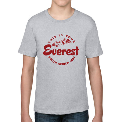 Kid's This Is Your Everest Rugby Tee - First XV rugbystuff.com