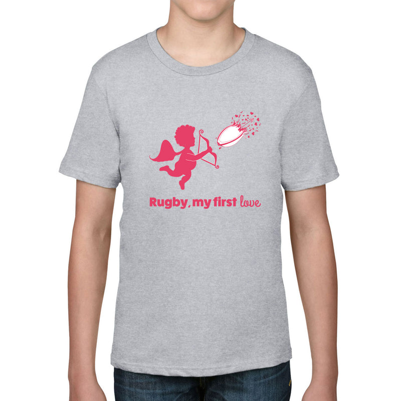 Kid's Rugby, My First Love Tee