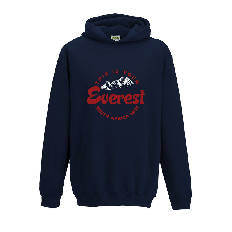 Kid's This Is Your Everest Rugby Hoody - First XV rugbystuff.com