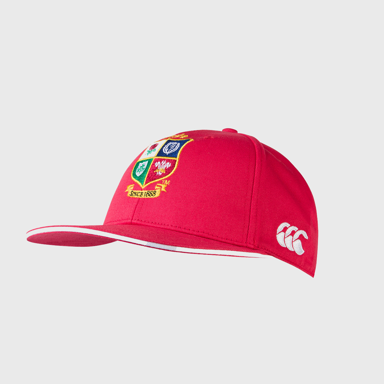 British & Irish Lions SA 2021 Cotton Drill Cap Red