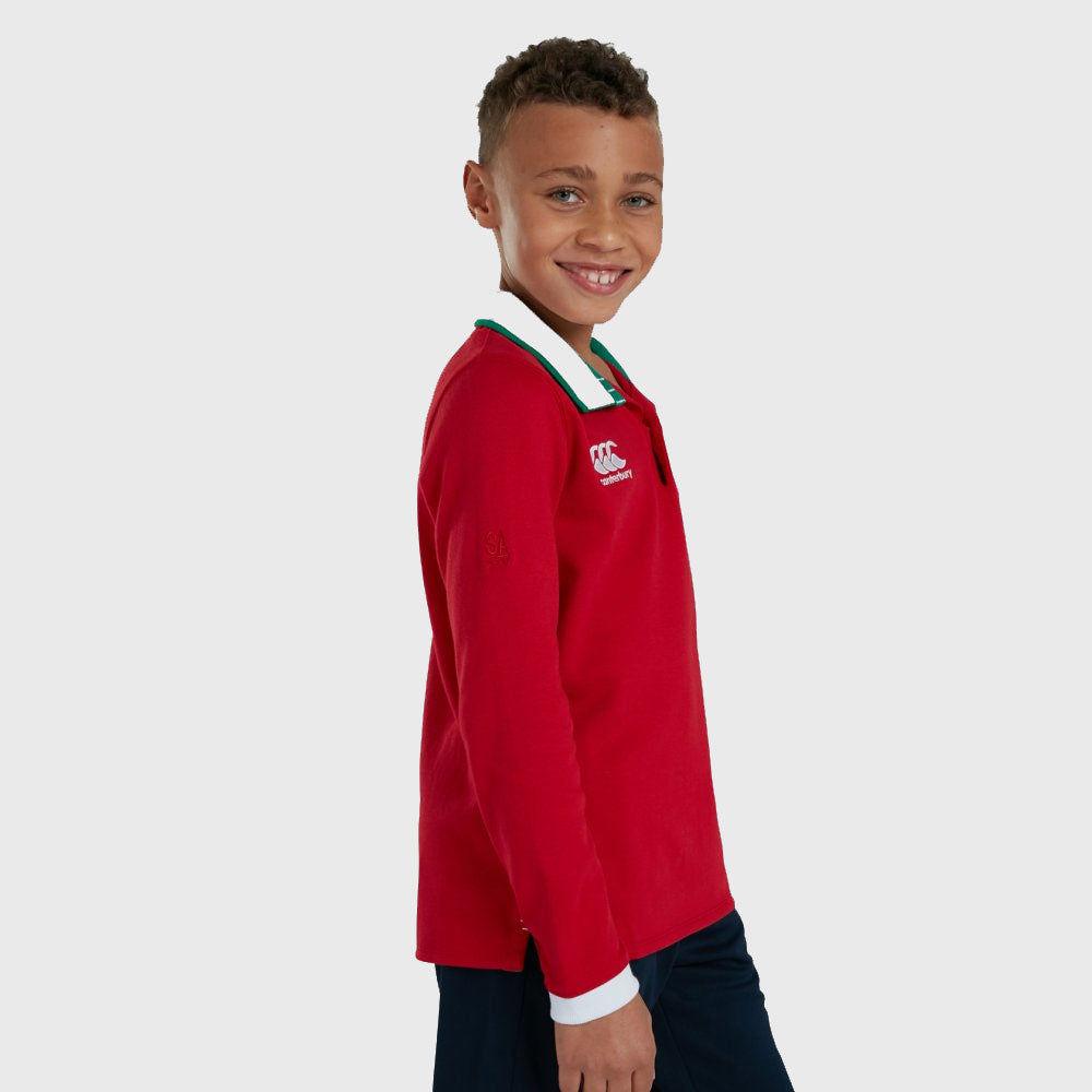 British & Irish Lions SA 2021 Kid's Classic Long Sleeve Rugby Jersey