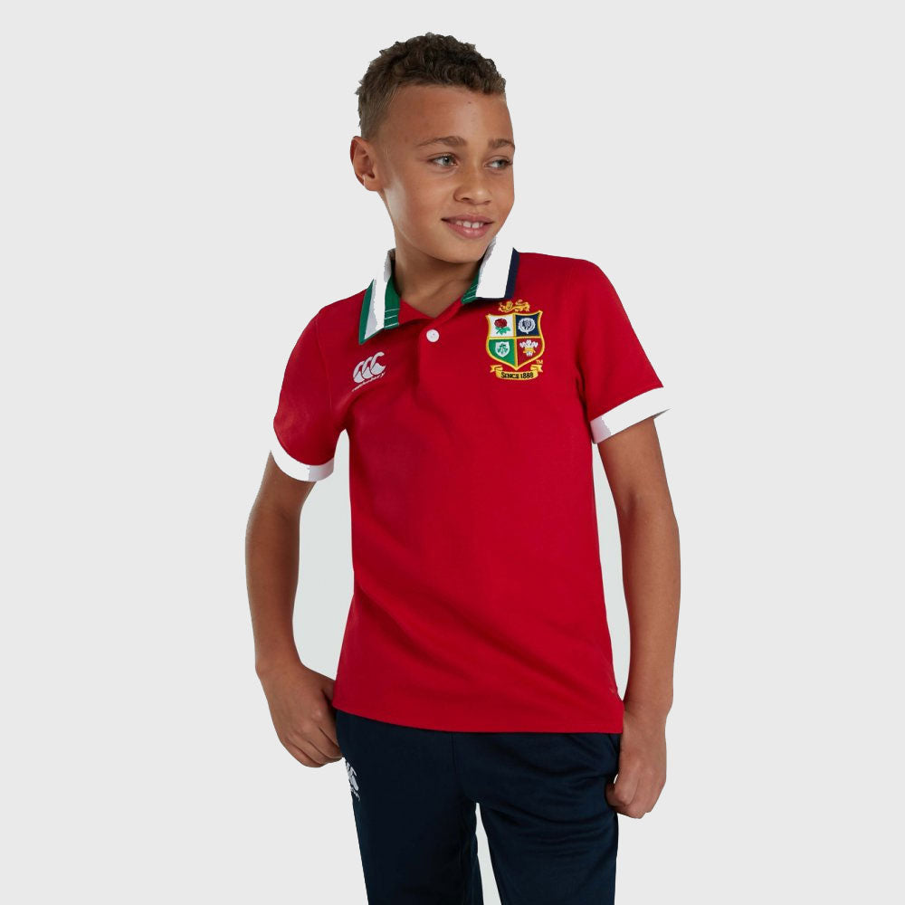 British & Irish Lions SA 2021 Kid's Classic Short Sleeve Rugby Jersey